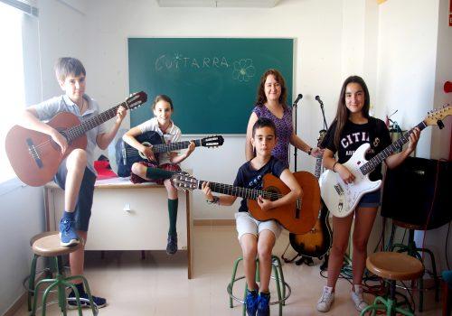 Cursos per xiquets-tes Almenara - GUITARRA INICIACIÓ XIQUETS-TES
